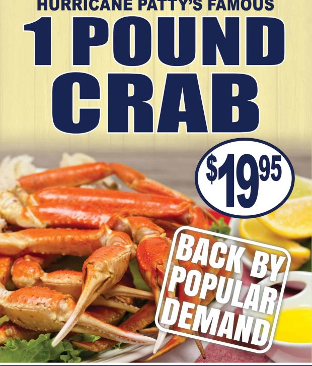 1 Pound Crab for just $19.95
